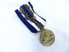 エンブレムミリタリー刺繍ワッペン風ピンバッジ 勲章徽章風