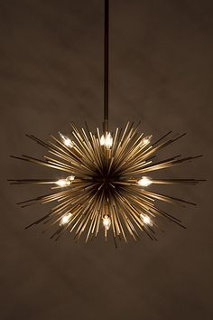 Satellite chandelier | lighting . Beleuchtung . luminaires | Design @ anthropologie |