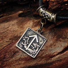 Awesome Etsy listing at https://www.etsy.com/pt/listing/169458509/bronze-teiwaz-tyr-tiw-rune-talisman