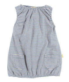 Sea Stripe Organic Noemi Dress - Infant, Toddler & Girls by Nui Organics