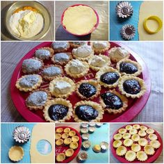 Linzer kosárka recept - Süss Velem Receptek Diy And Crafts, Muffin, Food And Drink, Pie, Bread, Candy, Breakfast, Drinks, Recipes