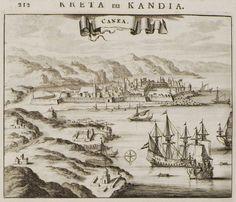Τα Χανιά. - DAPPER, Olfert - ME TO BΛΕΜΜΑ ΤΩΝ ΠΕΡΙΗΓΗΤΩΝ - Τόποι - Μνημεία - Άνθρωποι - Νοτιοανατολική Ευρώπη - Ανατολική Μεσόγειος - Ελλάδα - Μικρά Ασία - Νότιος Ιταλία, 15ος - 20ός αιώνας