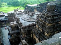 Agreeable terminated model train layouts Share this Kailasa Temple Ellora, Places Around The World, Around The Worlds, Ajanta Caves, Indian Architecture, Model Train Layouts, Model Trains, Main Street, City Photo