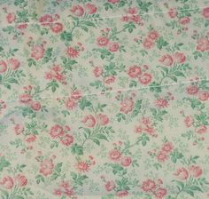 Vintage Laura Ashley Pillow Sham Pair Small Pink Floral Print Pillow Case Pillowcase Retro Shabby Cottage Chic Bedding