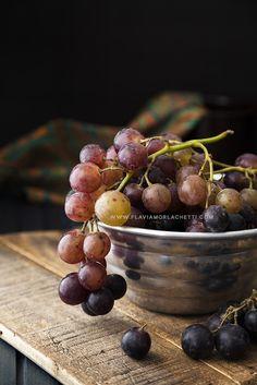 Grapes. Food photography ~ Food styling. www.flaviamorlachetti.com