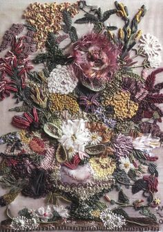 pg. 7 from Embroidered Flora & Fauna: Three-Dimensional Embroidery (Paperback)  by Lesley Turpin-Delport & Nikki Delport-Wepener