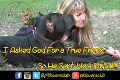 Are Pitbulls true friends? What do you think about this?