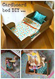 dolls bed diy cardboard - Google Search Diy Cardboard, Diy Bed, Diy Doll, Dolls, Google Search, Baby Dolls, Puppet, Doll, Baby