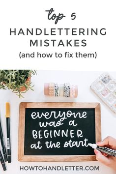 Here are my tips for where to start as an absolute beginner learning how to handletter! I hope they help you! #modernlettering #letteringdaily #brushcalligraphy #letteringaddict #lettering #letteringlove #letteringlover #letteringnewbie #letteringinspiration #letteringgoodvibes Hand Lettering Practice, Hand Lettering Quotes, Lettering Styles, Brush Lettering, Diy Letters, Printable Letters, Tombow Brush Pen, Calligraphy For Beginners, Handwritten Letters