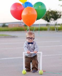 Baby Carl.. best children's Halloween costume ever! to bad when i have kids it will be too late