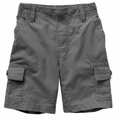 Jumping Beans Canvas Cargo Shorts - 3T