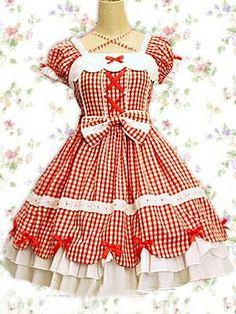 Douces ondulations Bow Lolita Dress