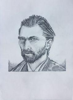 Vincent van Gogh by Toine de Jong