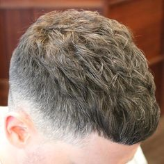 Great picture from raychilds-uk best in the web Cool Short Hairstyles, Hairstyles Haircuts, Haircuts For Men, Crop Haircut, Fade Haircut, Crew Cut Hair, Long Messy Hair, Hair Barber, Trending Haircuts