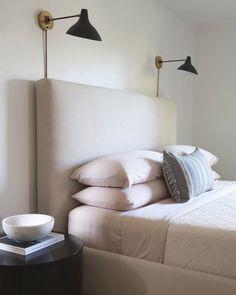 Blush sheets, lightly textured/ patterned blanket  feminine modern bedroom via @citysage