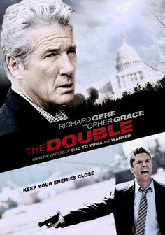 Double. Great suspenseful movie with a few twists. Loved it