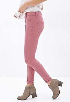 Mid-Rise - Skinny Jeans | FOREVER 21