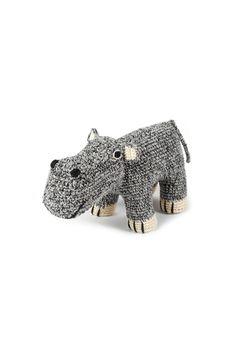Hand Crochet Hippo #Hippo