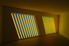 Click, Dial Tone, Goodbye...: dan flavin chinati foundation huge