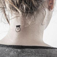 Les tatouages géométriques repérés sur Pinterest   Femina