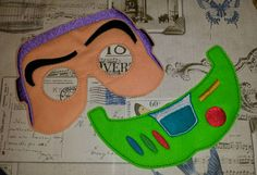 buzz lightyear toy story inspired mask and chest piece ITH Project In the Hoop Embroidery Design Costume, Cosplay, Fancy dress, Photo booth by SewBabyBows on Etsy