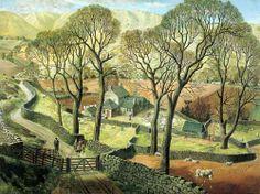 """James McIntosh Patrick, """"Springtime in Eskdale"""" (1935)"""