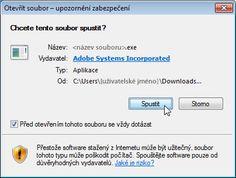 Adobe - Nainstalovat Adobe Flash Player
