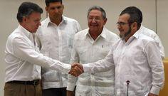 Colombia: La paz será firmada con las FARC, a más tardar, en 6 meses [Fotos]