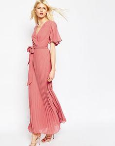 ASOS | ASOS Pleated Maxi Dress at ASOS