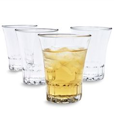 Duralex Amalfi Glasses, Set of 4, available at #surlatable