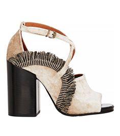 Trend Report: Velvet Shoes via @WhoWhatWearUK