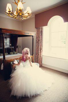 A Pink & Leopard Print Themed DIY Wedding: Ele & Raph