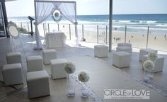 Coolum Beach front wedding Places To Get Married, Got Married, Getting Married, Creative Wedding Ideas, Sunshine Coast, Beautiful Places, Beach, The Beach, Seaside