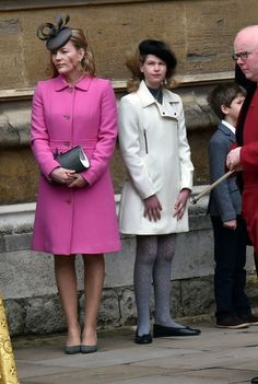 The British Royal Courts: The Windsor attend Easter Sunday Service