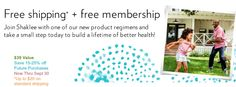 Pick a product pack and get a free lifetime membership.  If you order before Sept 30, 2014 you'll receive free shipping, up to $20.