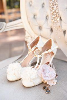 wedding shoes #wedding #shoes #bride #weddingshoes #brideshoes #rose #white #cute #notmine #piperstudios
