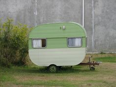 Dont the little #vintage #retro trailers just make you smile?