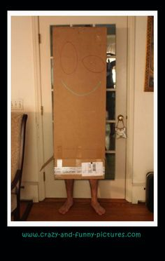 Funny Halloween Costume: The Box Man.... Funny halloween costumes and other types of cool funny and weird costumes. Check out the hilarious updates of pics every day.