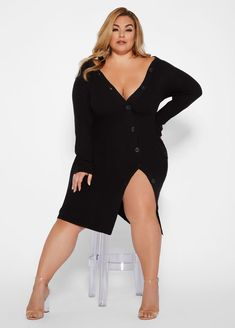 eeb2327ecd6 8 Best Plus Size Sweater Dress images in 2019