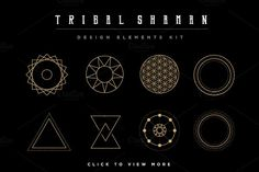 Mandala Set - Tribal Shaman - Illustrations - 5
