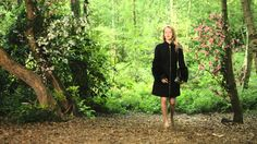 RIVER ISLAND DESIGN FORUM: LIZ BLACK. English actress and filmmaker, Mary Nighy, drew inspiration from Princess Anastasia's escape through the Russian woods for this River Island and Liz Black collaboration