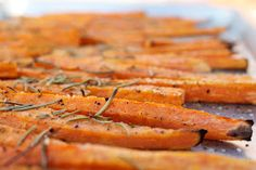 A Bountiful Kitchen: Baked, Spiced Sweet Potato Fries