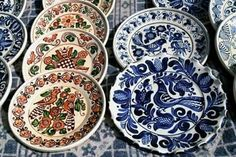 Traditional Crafts in Romanian Villages Ceramic Workshop, Handmade Pottery, Craftsman, Decorative Plates, Ceramics, Traditional, Tableware, Romania, Design
