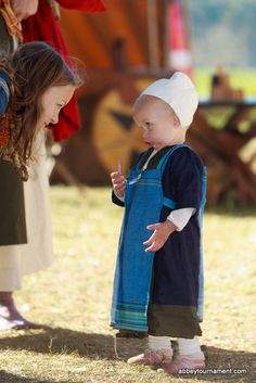 Kids are welcome amongst the re-enactors in our encampment.  In fact, we think they enjoy it most of all!