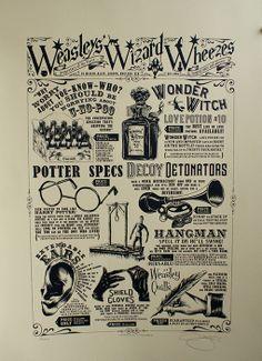 Weasley's Weezers. thechurchwardgallery.com