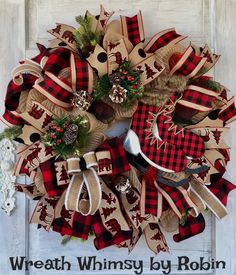 excited to share this item from my etsy shop rustic burlap mesh wreath - Christmas Black And White Clipart