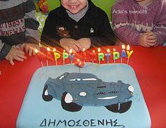 finn mcmissile birthday cake