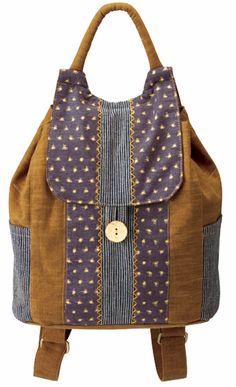 Fancy Day Pack Kit in Mustard | Fabric Tales
