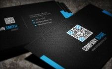 I will design Professional eye catching Business Card with QR Code.