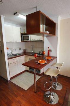 65 Gorgeous Minimalist Kitchen Decor And Design Ideas Rustic Kitchen Cabinets, Rustic Kitchen Design, Best Kitchen Designs, Diy Kitchen, Kitchen Interior, Kitchen Decor, Kitchen Ideas, Kitchen Bars, Updated Kitchen